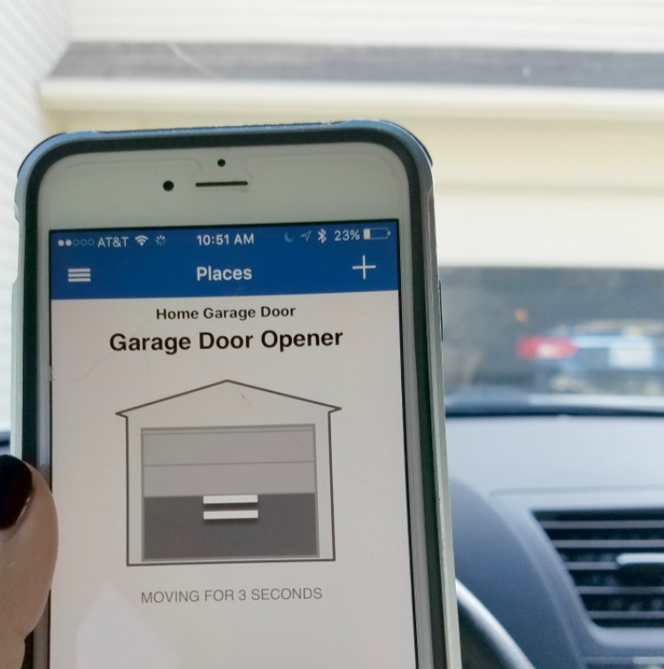 Have you ever forgot to close your garage door?! Now you can check it, open and close it with this awesome MyQ Garage app opener!