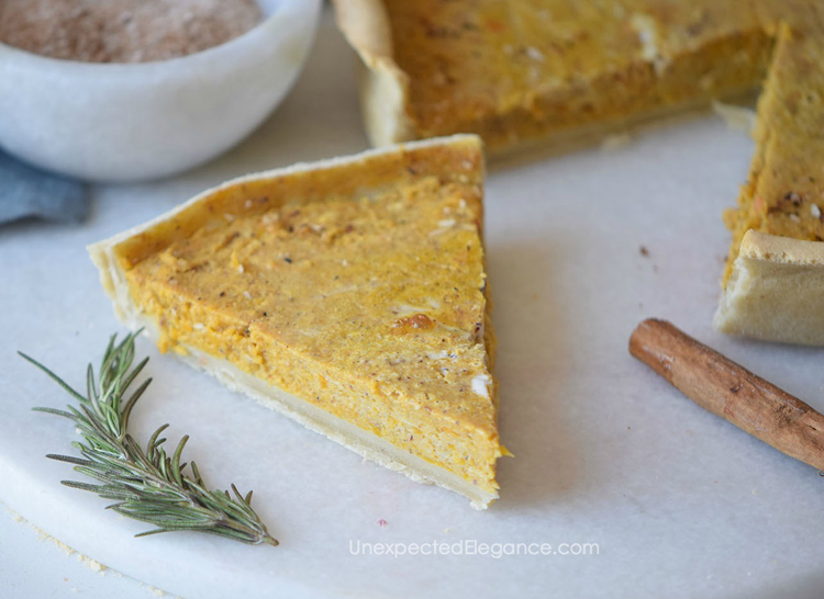With the holidays just around the corner, it's time to start baking! Give this thin dish Pumpkin Pie a try...it's a new take on a classic!