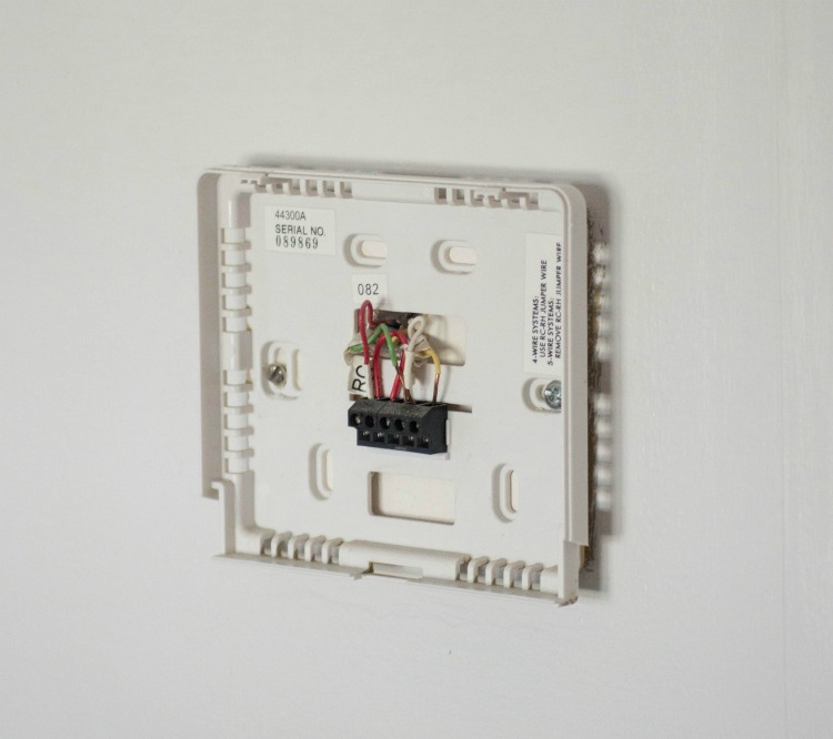 Take a picture of your old thermostat before replacing it!