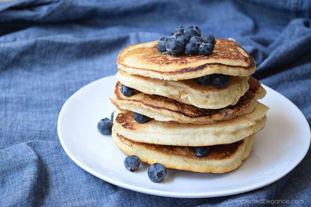 Try these gluten free, vegan pancakes. Or add ingredients to make them paleo!