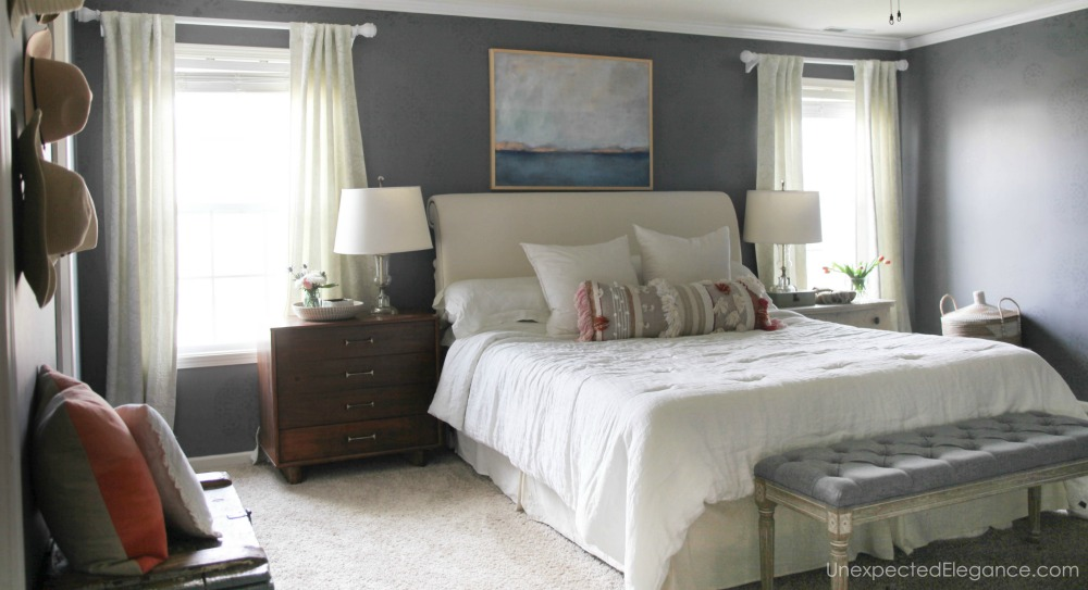 From Junk Room To Beautiful Bedroom The Big Reveal: Master Bedroom REVEAL