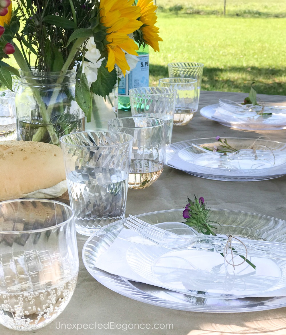 Easy spring entertaining ideas