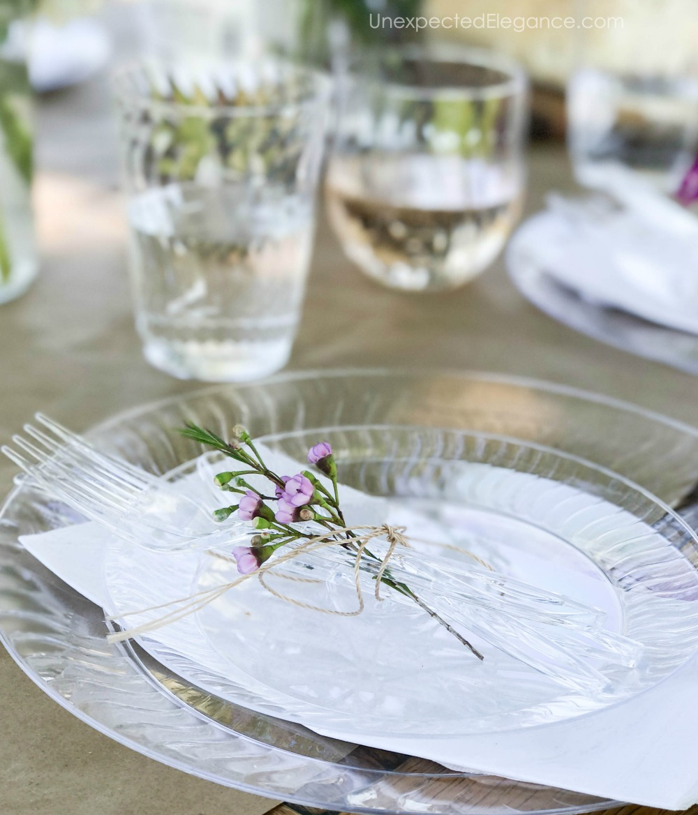 Dinner party ideas for spring