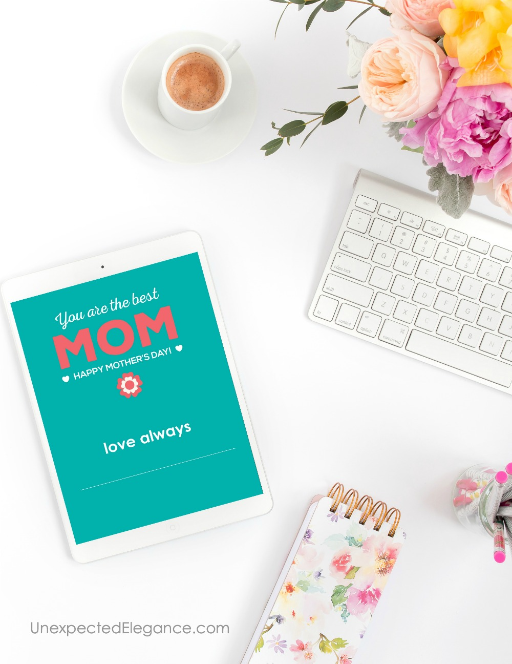 Need a last minute gift for Mother's Day?? This set of 4 Mother's Day Gift printables are great to personalize as the gift or add to one you already have!