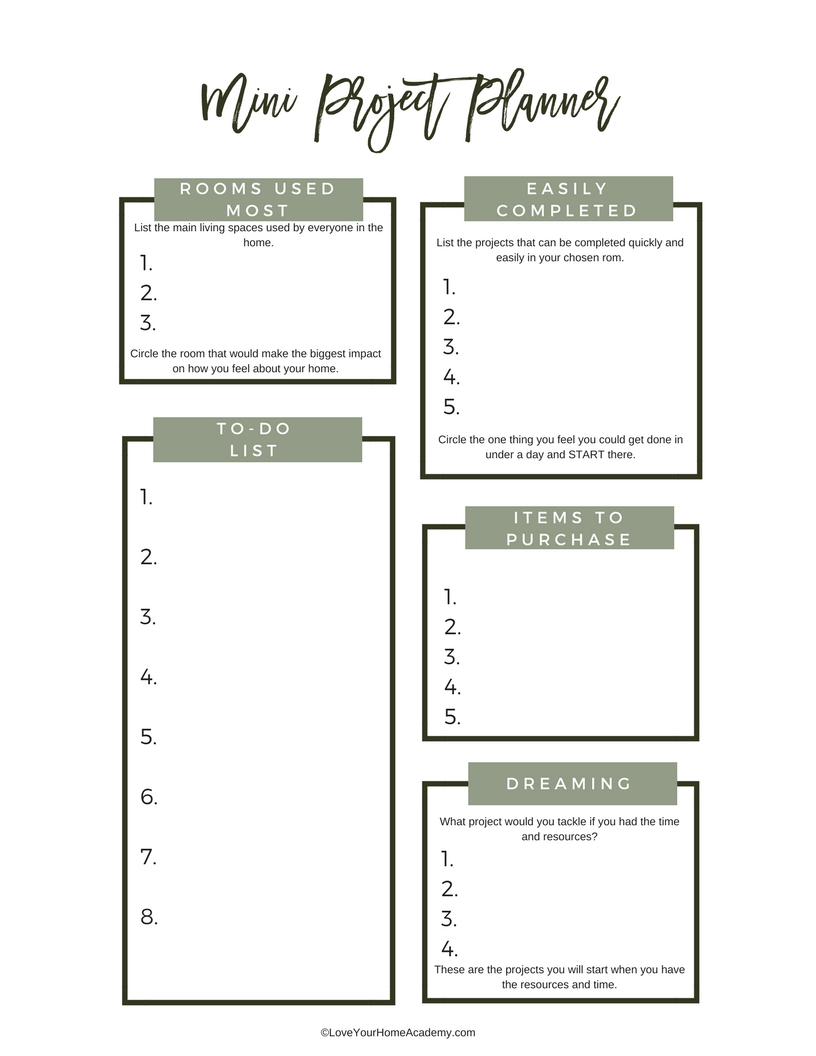 free project planner unexpected elegance