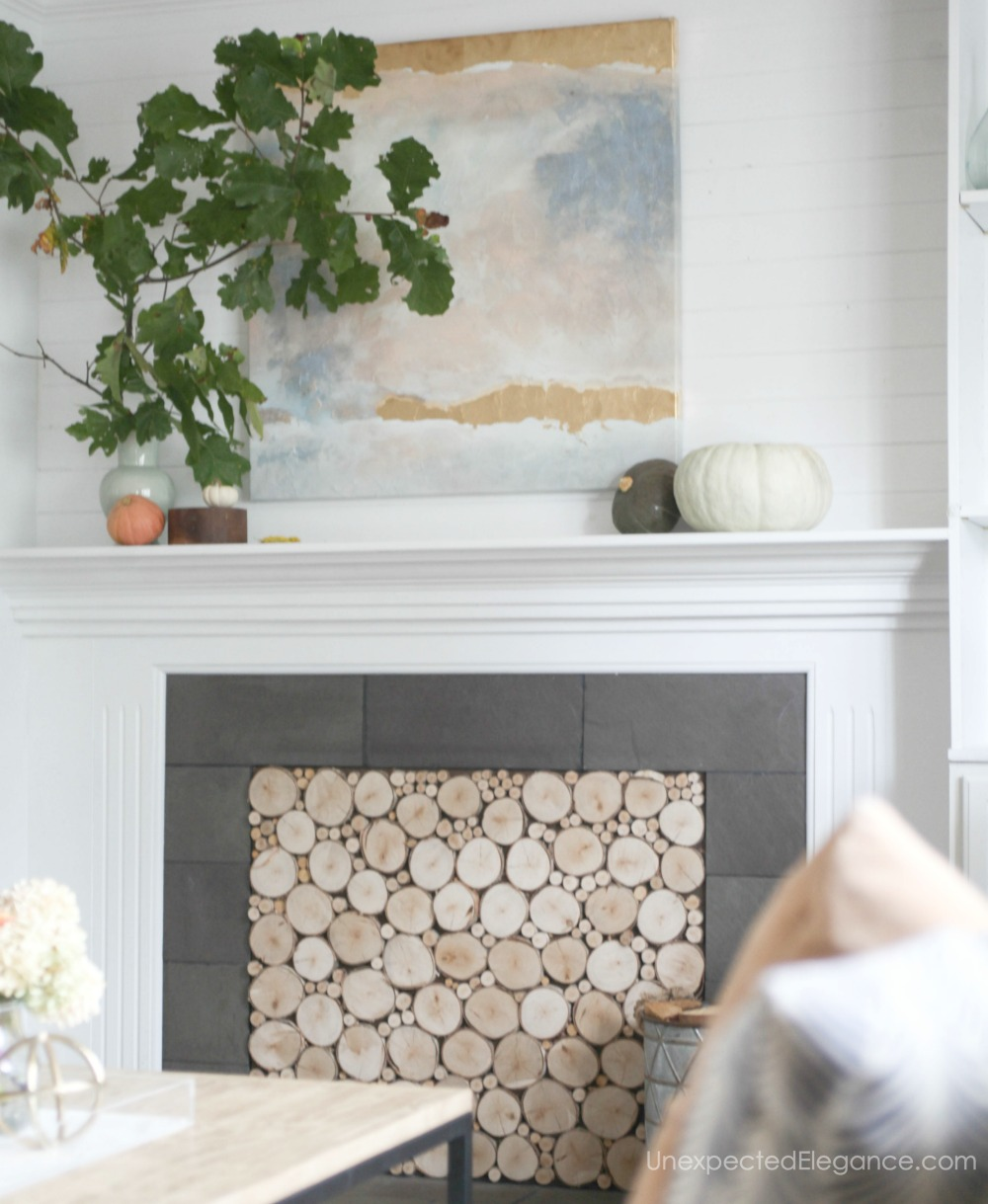 Elegant and simple fall home decor ideas that are very inexpensive.