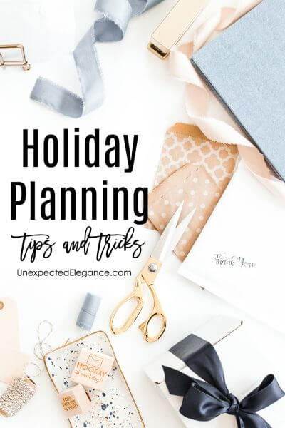 FREE Holiday Planner | Making The Most Of Your Time And Your Resources This Holiday Season