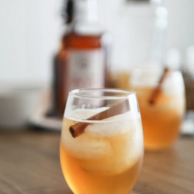 Pumpkin Spiced Rum Cocktail