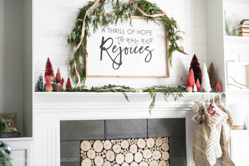 Simple Christmas decor ideas!