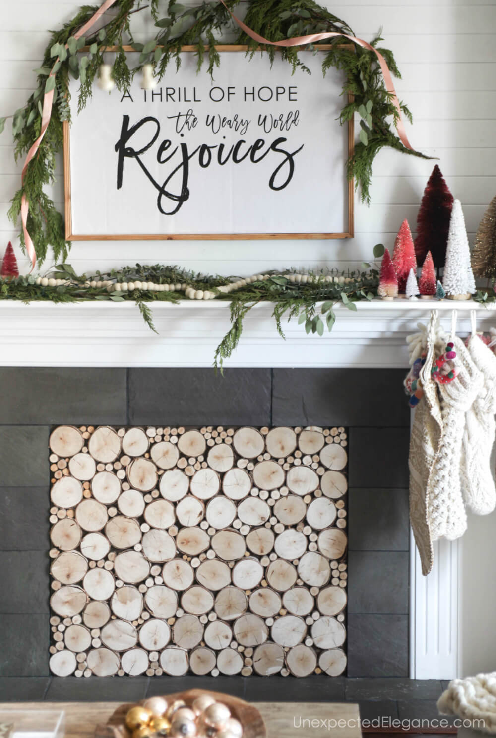 Easy and quick holiday decorating ideas.