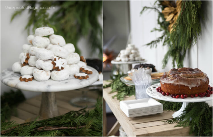 Festive ideas for store bought desserts.