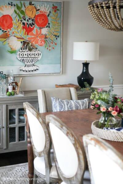 Client Project:  Dining Room Transformation