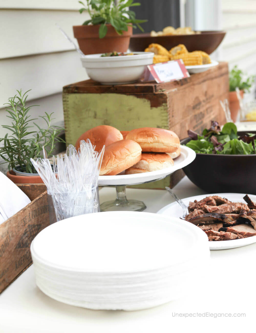 Check out a few tips to help host a summer BBQ without the stress!!