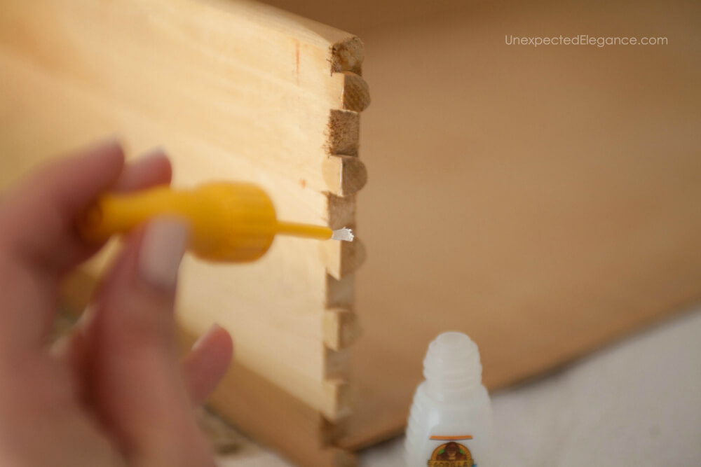 Find out how this new nozzle from Gorilla glue made fixing a drawer simple.