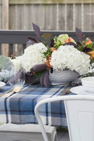 Fall Outdoor Dinner Party Tips