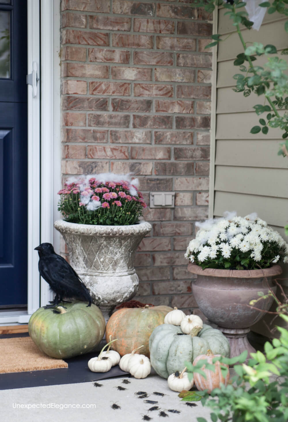 Fun and EASY Halloween porch!