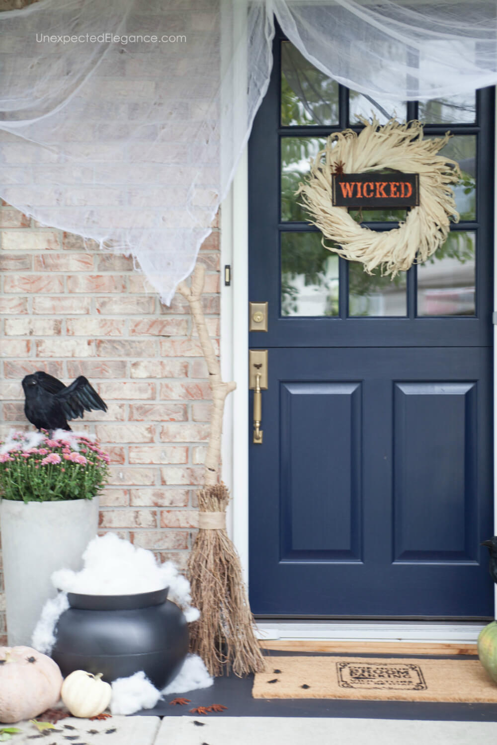 Wicked themed porch that's easy and fun!