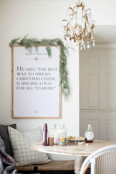 Elf Movie Quote Printable | Best Way To Spread Christmas Cheer