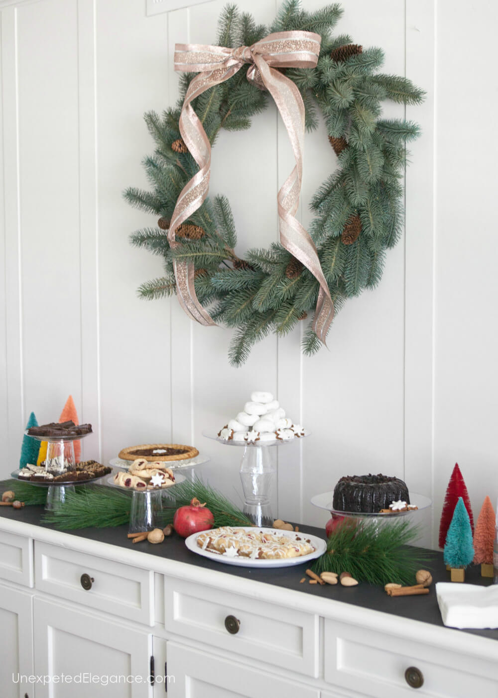 Set up an easy holiday dessert bar this year that your friends and family will love. I'll show you how to keep it simple so you can enjoy the season!