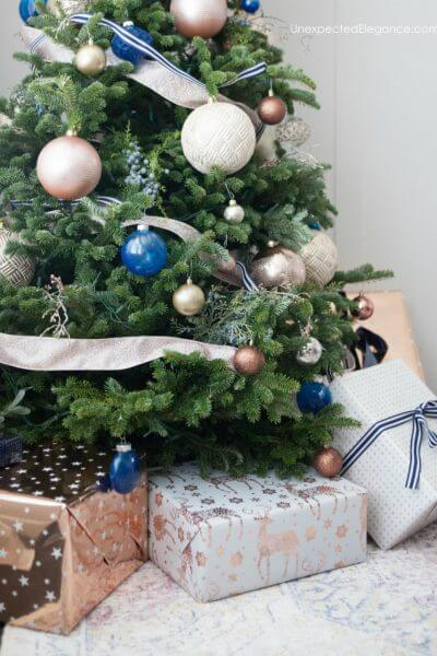DIY Custom Colored Ornaments