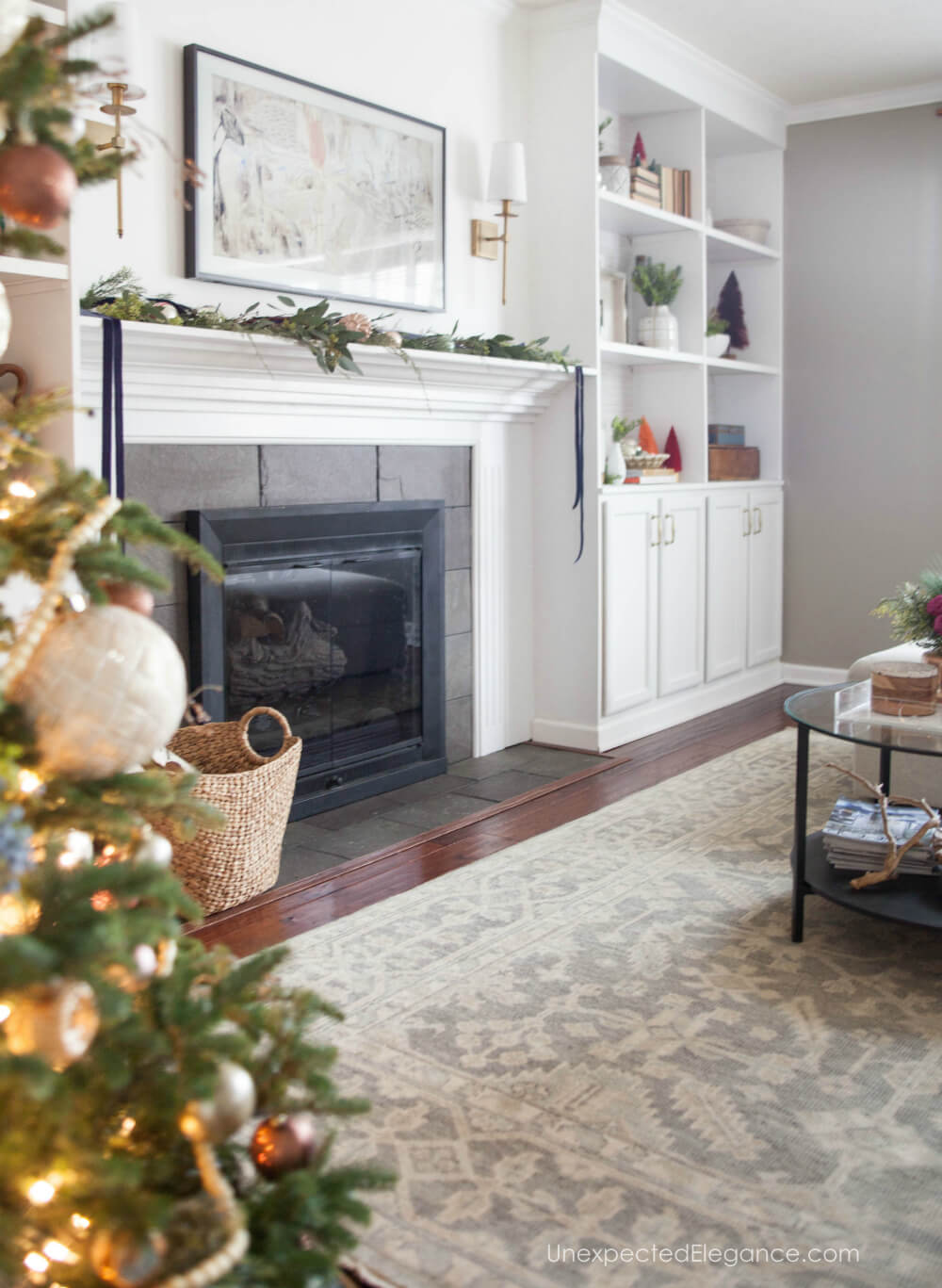 Simple and Cozy Christmas Decor | Unexpected Elegance