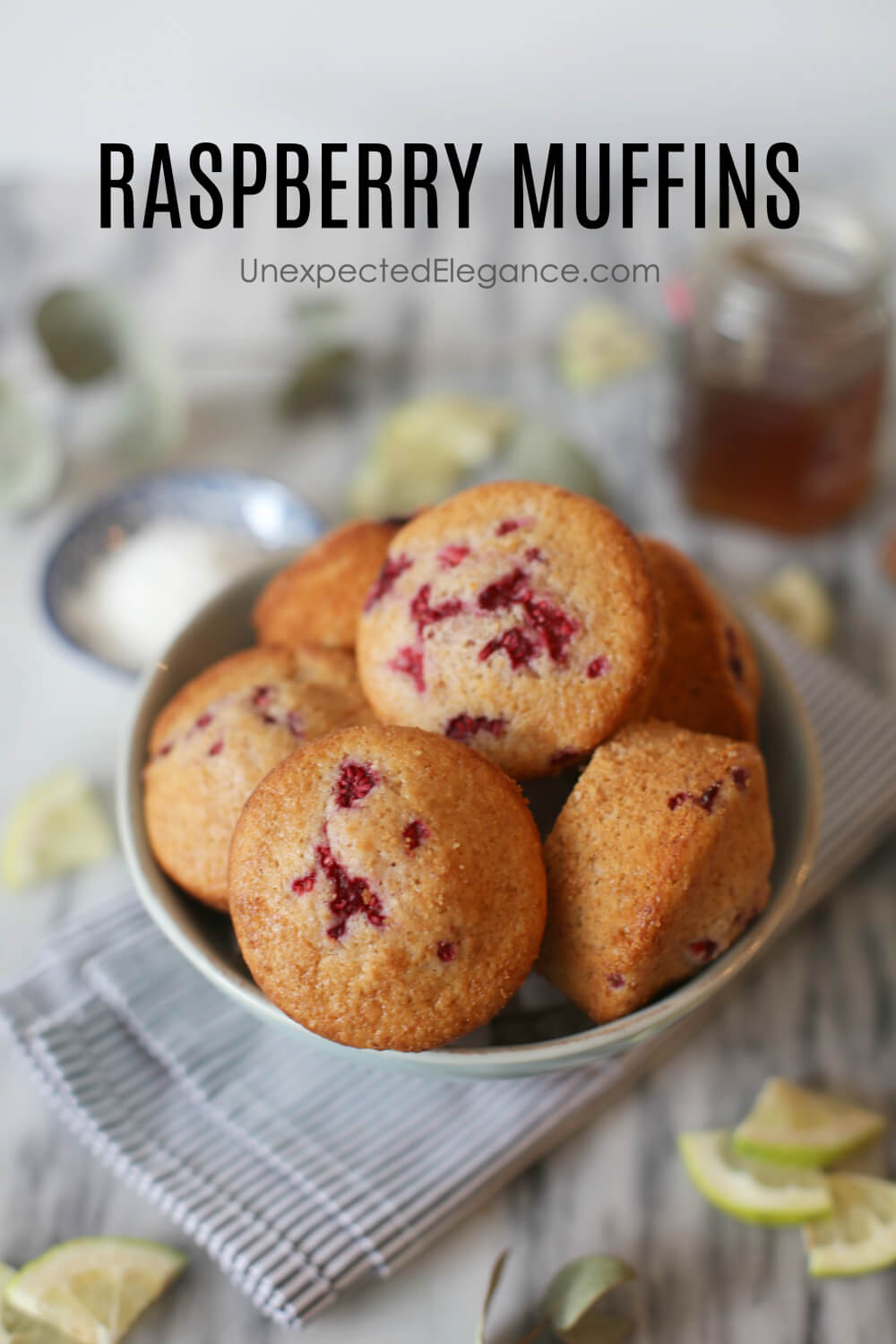 If you love a good baked treat, then give this Raspberry muffin recipe a try! The tart flavor of the raspberries is amazing and you can swap out the berries for a completely different taste.