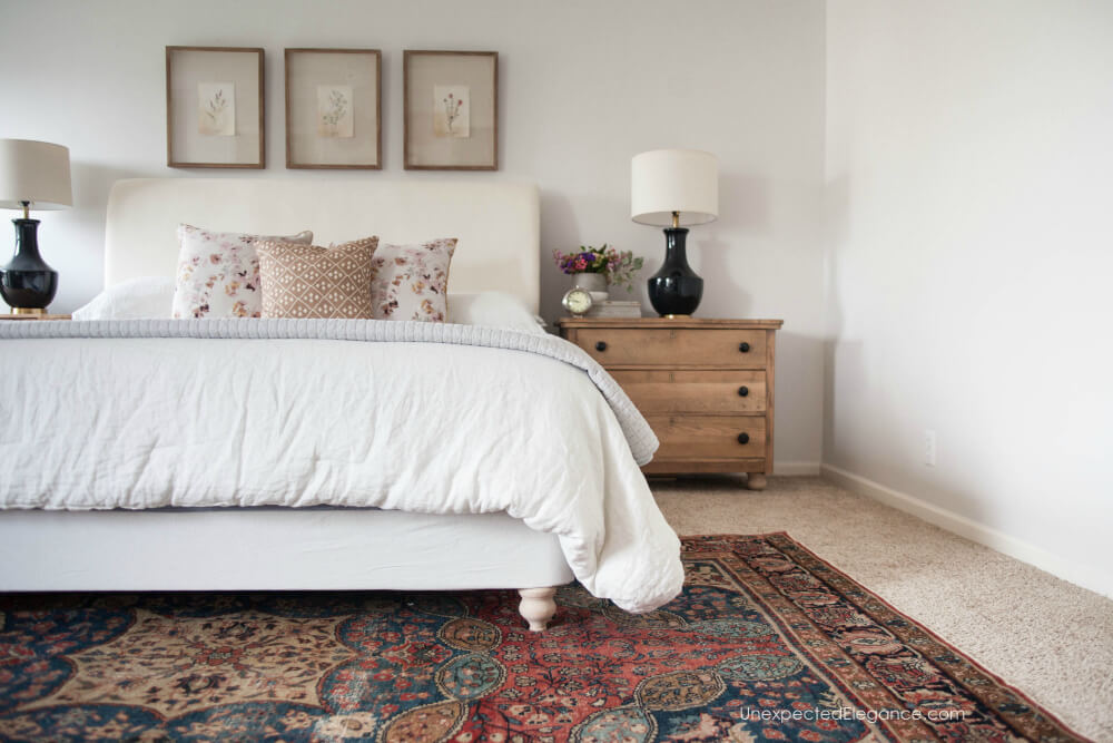 Get tips for updating your bed with an upholstered foundation.