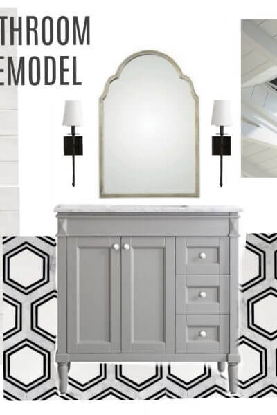 Bathroom Remodel Mood Board