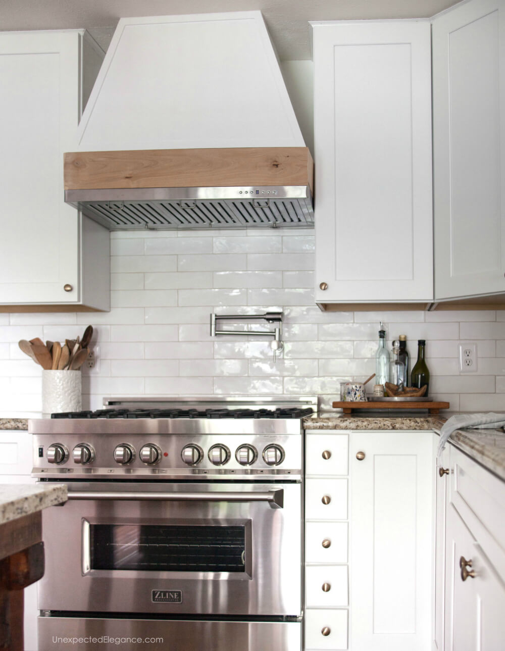 Diy Custom Ductless Range Hood Unexpected Elegance