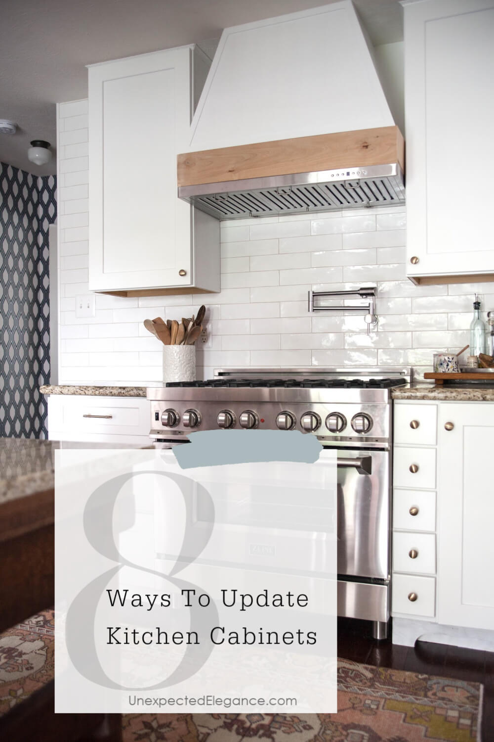 8 Ways To Update Kitchen Cabinets